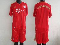 Bayern Blank Red 2011/2012 Home Soccer Club Jersey