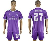 Real Madrid #27 Ddegaard Away Soccer Club Jersey
