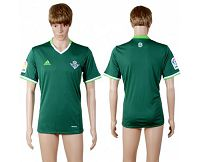 Real Betis Blank Away Soccer Club Jersey
