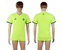 Real Betis Blank Sec Away Soccer Club Jersey