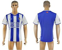 Real Sociedad Blank Home Soccer Club Jersey