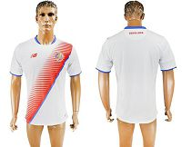 Costa Rica Blank Away Soccer Country Jersey