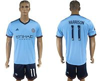 New York City #11 Harrison Home Soccer Club Jersey