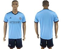 New York City Blank Home Soccer Club Jersey