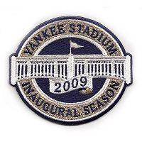 Stitched 2009 New York Yankees Stadium Inaugural Season Jersey Patch