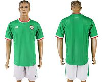 Ireland Blank Green Soccer Country Jersey