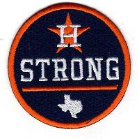 Houston Astros 2017 World Series Houston Strong Patch