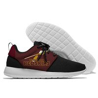 Men And Women NFL Washionton Redskins Roshe Style Lightweight Running Shoes 03