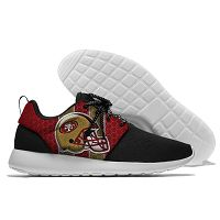 Men And Women San Francisco 49ers Roshe Style Lightweight Running Shoes 02