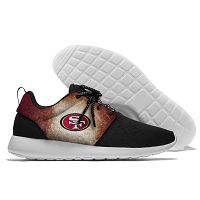 Men And Women San Francisco 49ers Roshe Style Lightweight Running Shoes 04