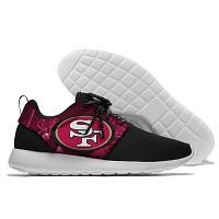 Men And Women San Francisco 49ers Roshe Style Lightweight Running Shoes 05