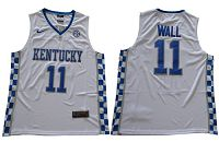 Wildcats #11 John Wall White Basketball Elite Stitched NCAA Jersey
