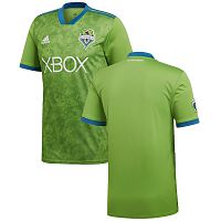 Men's Adidas Seattle Sounders FC Green 2018 Primary Blank Soccer Club Jersey