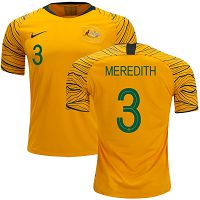Australia #3 Meredith Home Soccer Country Jersey