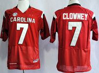 South Carolina Gamecocks #7 Jadeveon Clowney 2013 Red NCAA Jersey