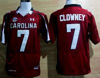 South Carolina Gamecocks #7 Jadeveon Clowney Red NCAA Jersey