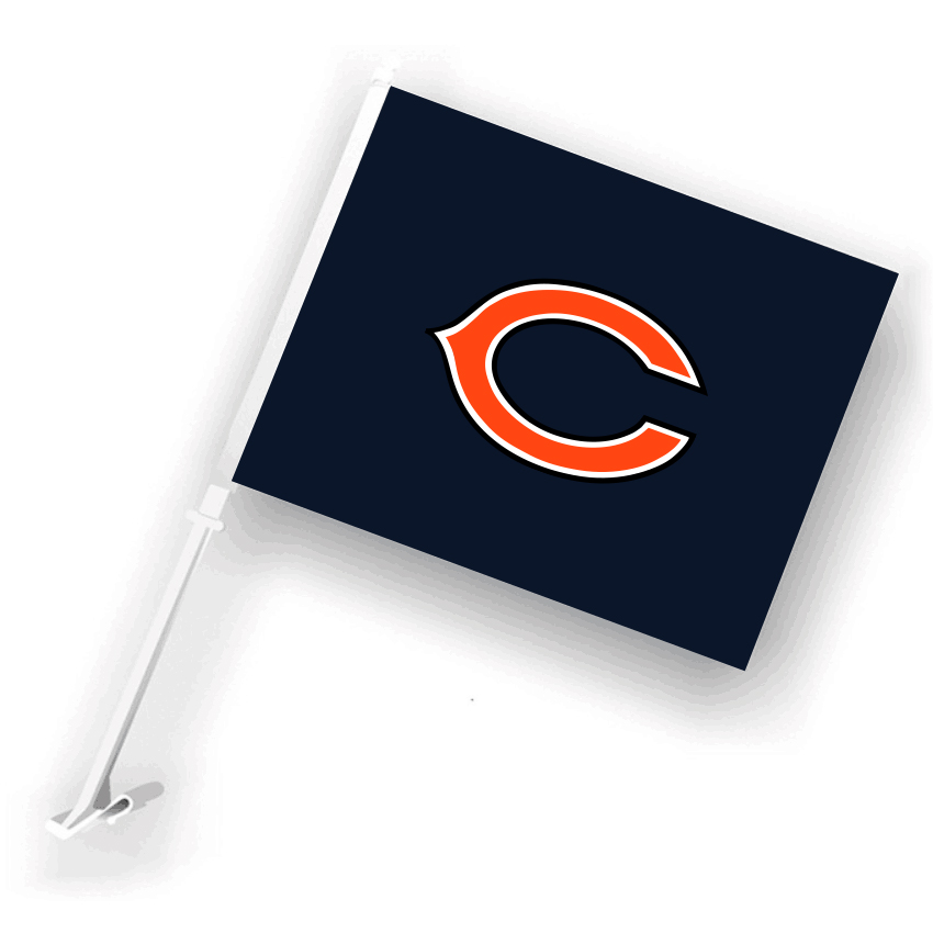 NFL Chicago Bears 30cm*45cm Car Flags (Customized Logo)