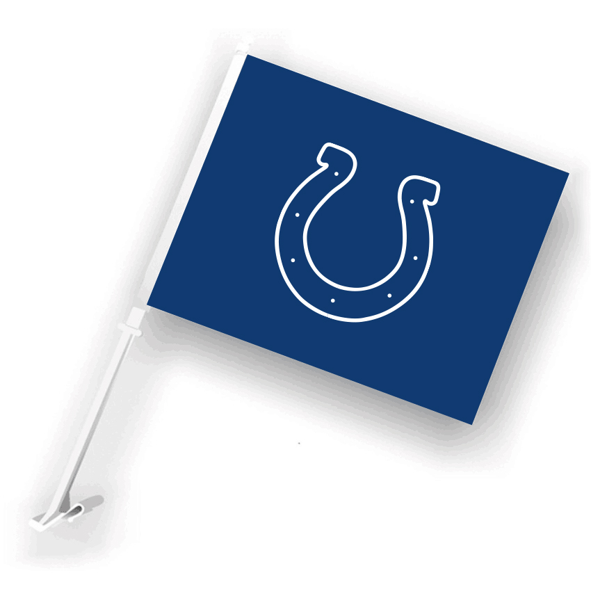 NFL Indianapolis Colts 30cm*45cm Car Flags (Customized Logo)