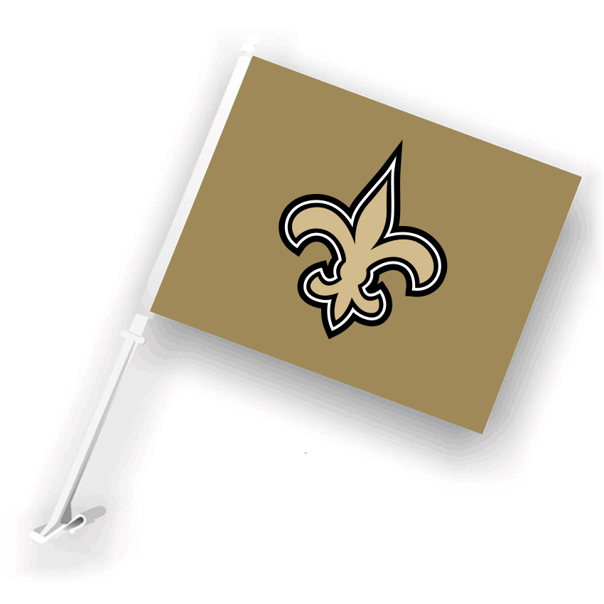 NFL New Orleans Saints 30cm*45cm Car Flags (Customized Logo)