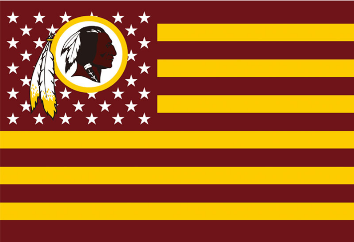 NFL Washington Redskins 96cm*145cm Flag