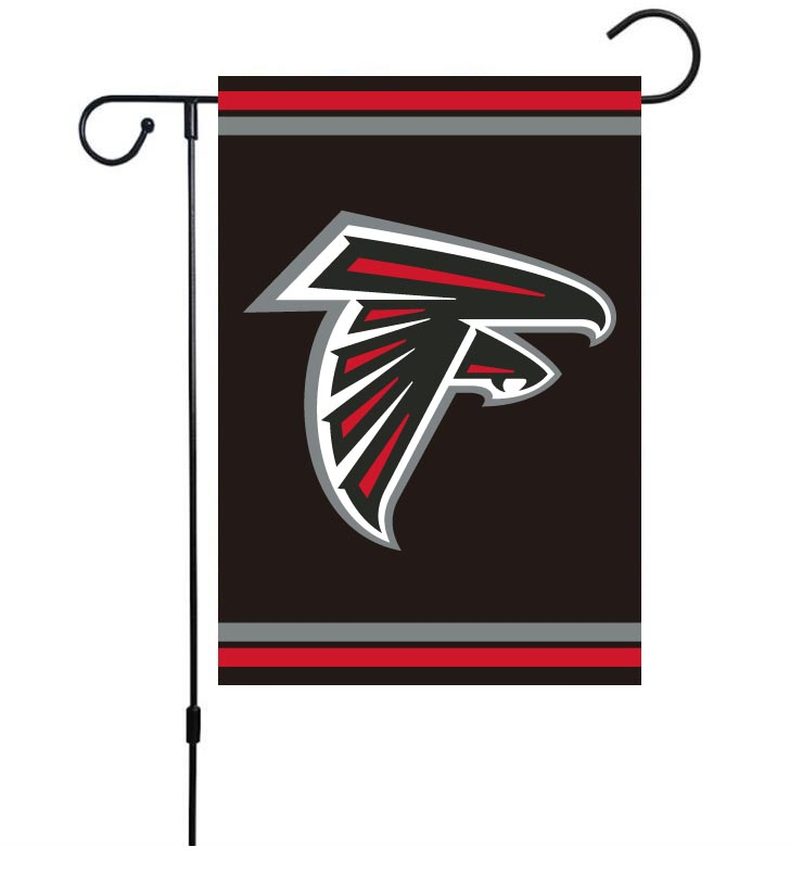 NFL Atlanta Falcons 30cm*45cm NO Pole Double-Sided Garden Flag (Customized Logo)
