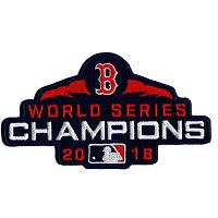 MLB Boston Red Sox 2018 World Series Champions Jersey Stitched Patch