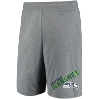 Seattle Seahawks Concepts Sport Tactic Lounge Heathered Gray Shorts