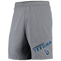 Tennessee Titans Concepts Sport Tactic Lounge Heathered Gray Shorts