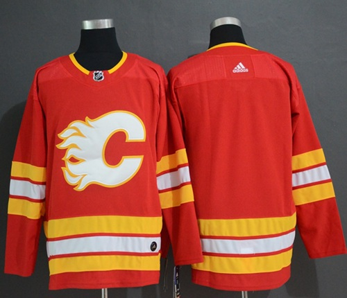 Adidas Calgary Flames Blank Red Alternate Authentic Stitched NHL Jersey 3cd1332b9