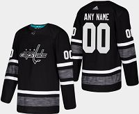 Men'S Adidas Washington Capitals Custom 2019 NHL All-Star Black Parley Game Jersey