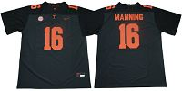 Tennessee Vols #16 Peyton Manning Grey Limited Stitched NCAA Jersey
