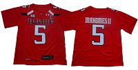 Texas Tech Red Raiders #5 Patrick Mahomes Red Limited Stitched NCAA Jersey