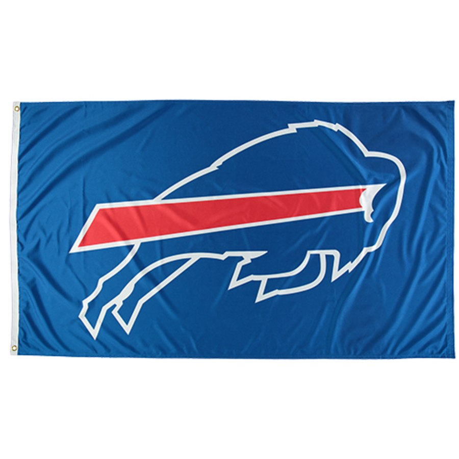 Buffalo Bills WinCraft Deluxe 3' x 5'(90*150 cm) Logo Flag