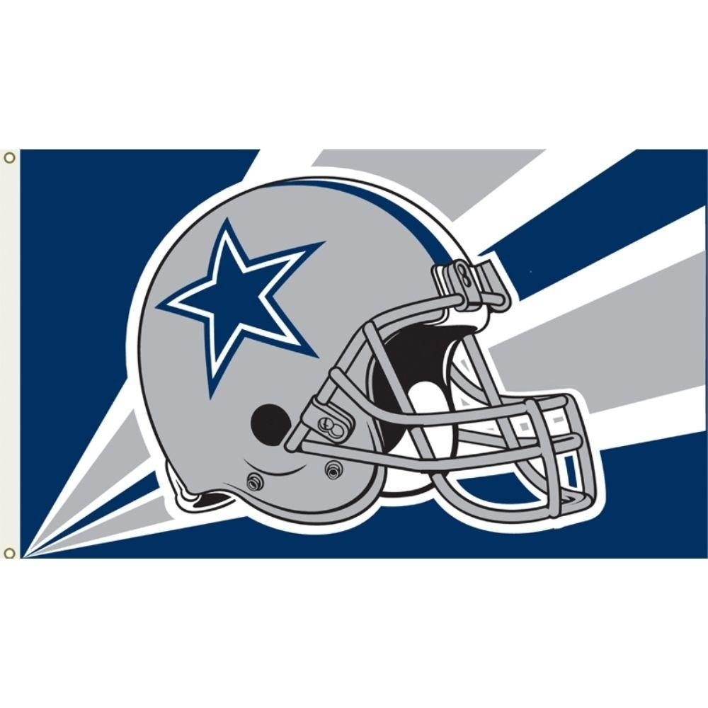 Dallas Cowboys WinCraft Deluxe 3' x 5'(90*150 cm) Logo Flag
