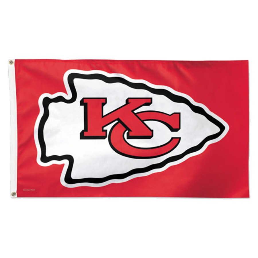 Kansas City Chiefs WinCraft Deluxe 3' x 5'(90*150 cm) Flag