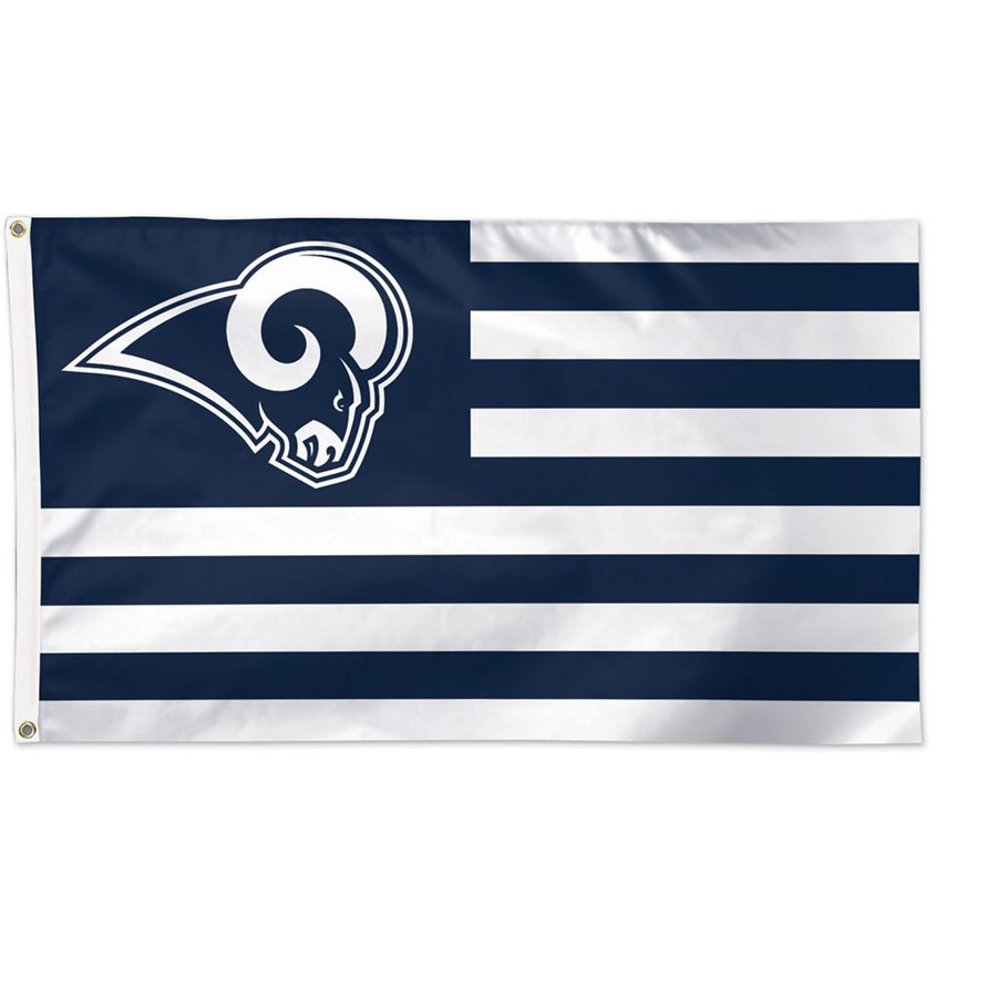 Los Angeles Rams WinCraft 3' x 5'(90*150 cm) Americana Stars & Stripes Deluxe Flag