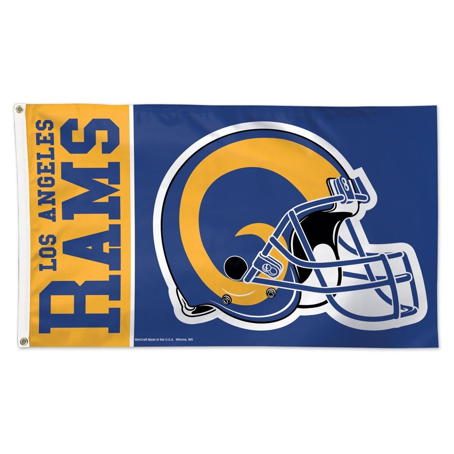 Los Angeles Rams WinCraft One-Sided 3' x 5'(90*150 cm) Deluxe Flag
