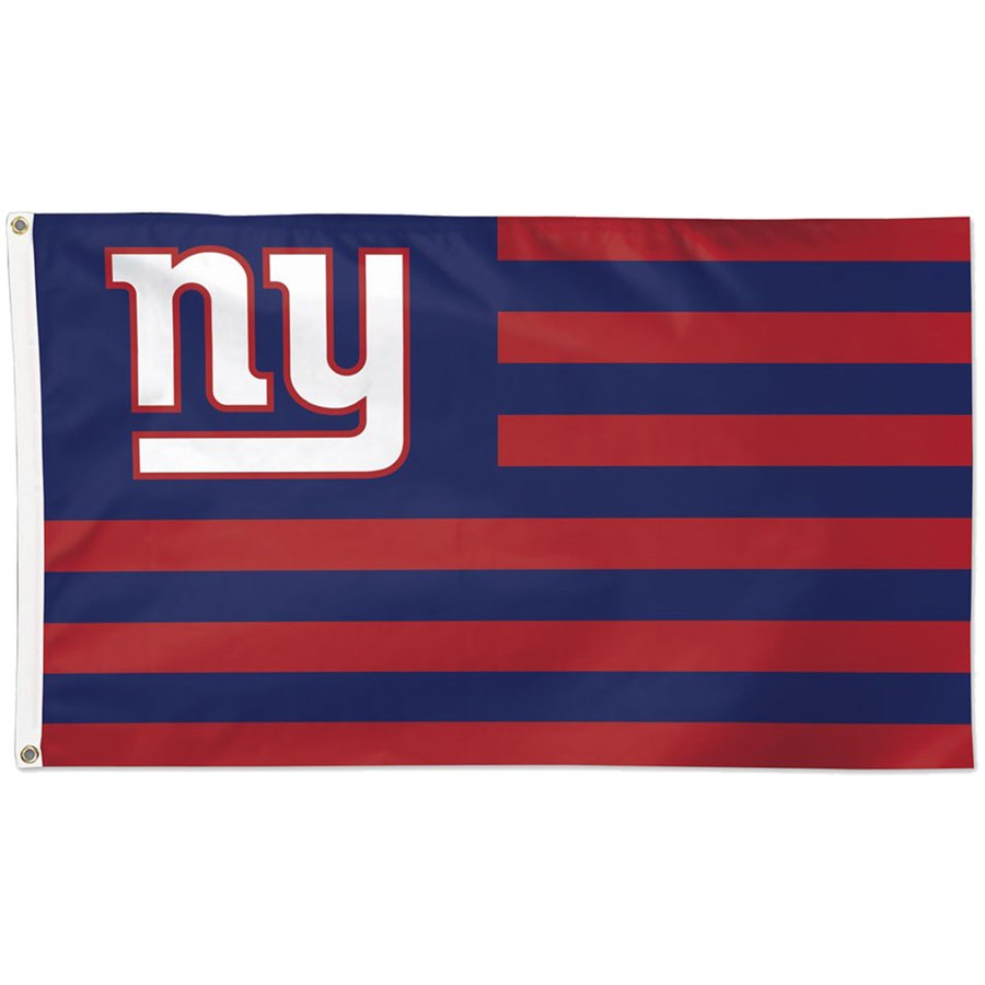 New York Giants WinCraft 3' x 5'(90*150 cm) Americana Stars & Stripes Deluxe Flag