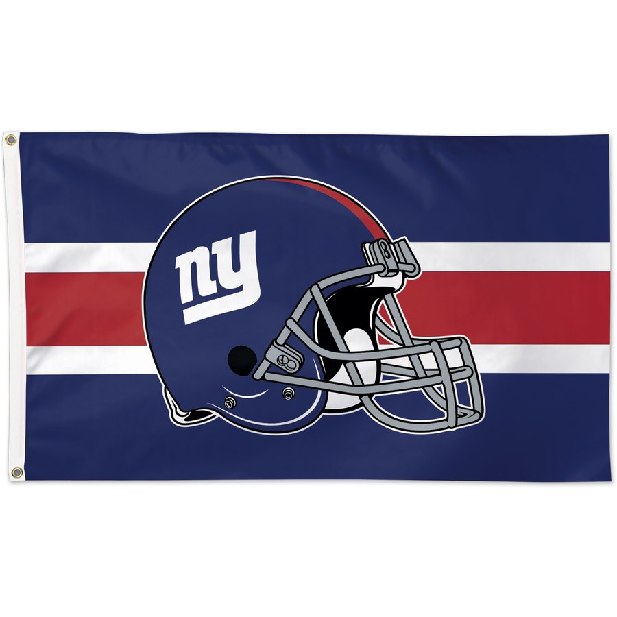 New York Giants WinCraft One-Sided 3' x 5'(90*150 cm) Deluxe Helmet Flag