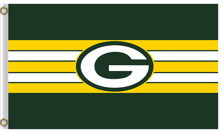 Green Bay Packers 3'x 5'(90*150 cm) Flag