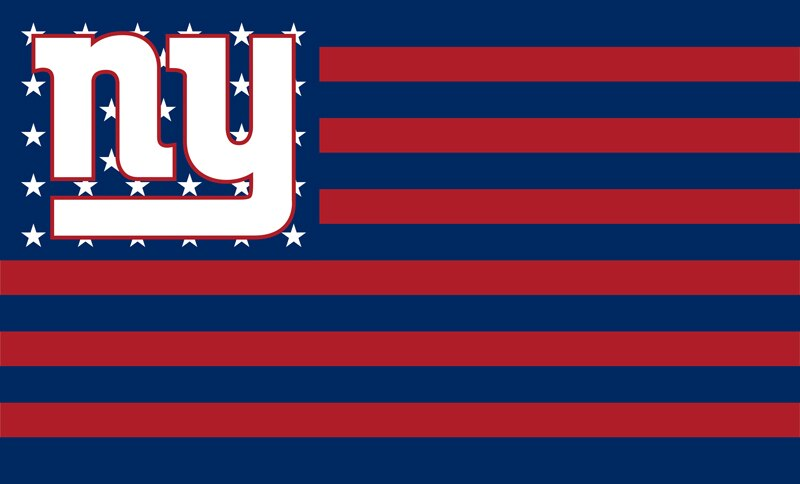 New York Giants 3'x 5'(90*150 cm) Flag