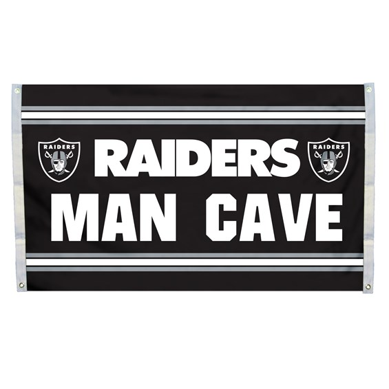 Oakland Raiders 3'x 5'(90*150 cm) Flag