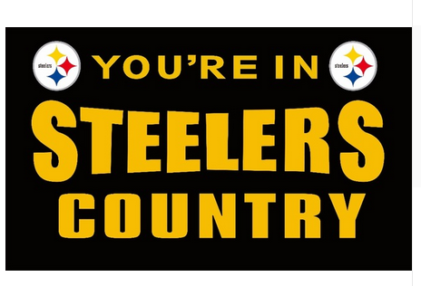 Pittsburgh Steelers 3'x 5'(90*150 cm) Flag