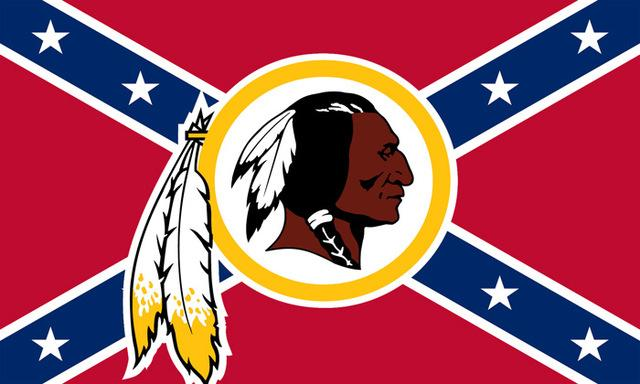 Washington Redskins 3' x 5'(90*150 cm) One-Sided Flag