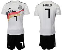 Men's 2019-20 Germany 7 DRAHLER Home Soccer Jersey