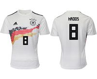 Men's 2019-20 Germany 8 HROOS Home Thailand Soccer Jersey