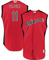 Men's American League #11 Jorge Polanco Red 2019 All-Star Game Majestic MLB Jersey