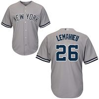 Men's New York Yankees #26 DJ LeMahieu Grey New Cool Base Stitched MLB Jersey