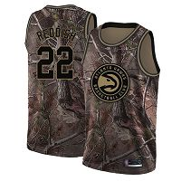 Atlanta Hawks #22 Cam Reddish Camo NBA Swingman Realtree Collection Jersey