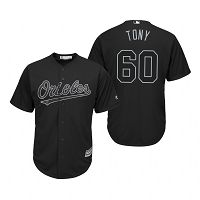 Baltimore Orioles Mychal Givens Tony Black 2019 Players Weekend MLB Jersey